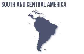 South and Central America