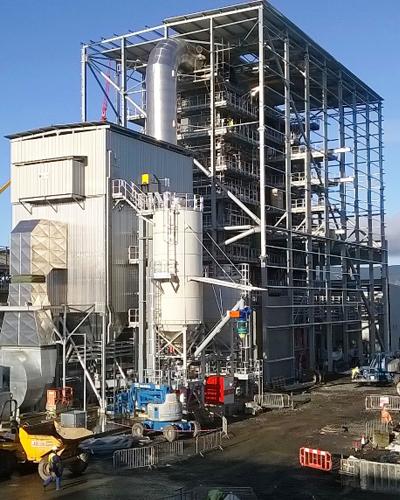 Evermore Biomass Incinerator
