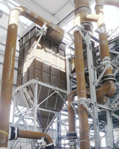 Miedwie Water Treatment Works in Szczecin, Poland