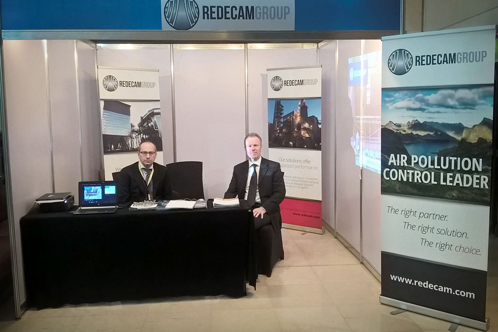 Redecam team members at AICCE 2015