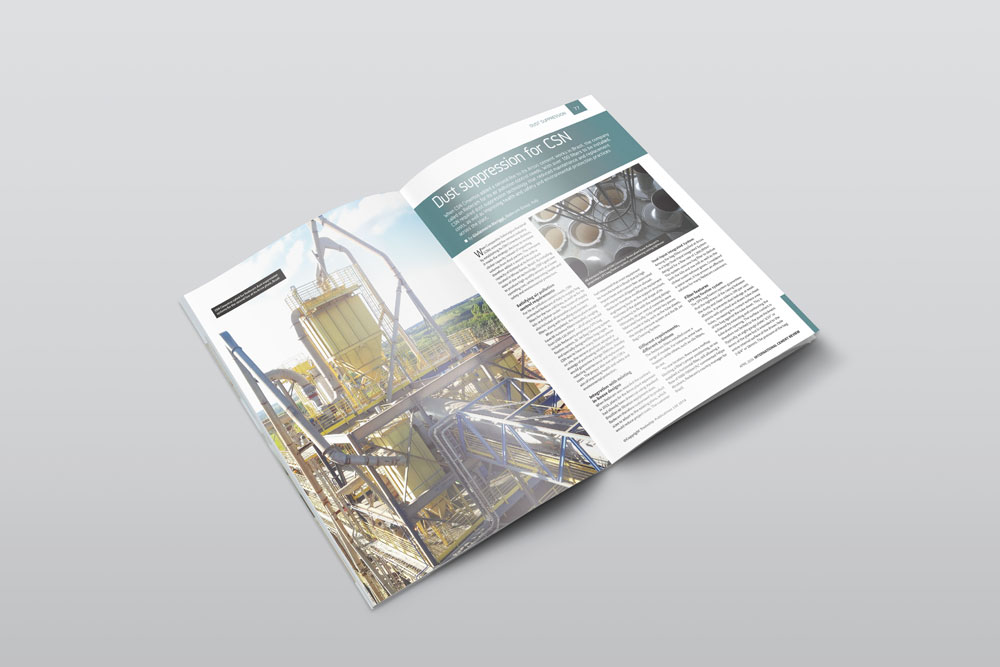 Redecam's article on dust suppression